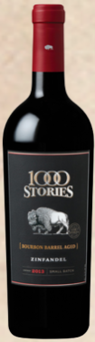 BOURBON BARREL AGED ZINFANDEL 2015 - 1000 STORIES